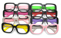 Wholesale 20PCS FTP box black rimmed glasses frame glasses frame color leg matte color large framed glasses