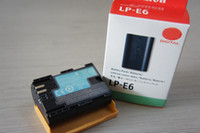 Wholesale Hot Sale Digital Battery LP E6 LPE6 E6 forCanon EOS D D Mark II New