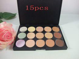 Professional Makeup Face Natural Concealer Palette Perfect Cover Sheer Concealer Palette 15 Colors Cream Concealer Palette