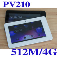 Wholesale Samsung A8 PV210 inch touch screen tablet pc M G HDMI bluetooth black white