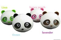 Wholesale Cute The panda automobile perfume Kung Fu Panda balsam panda aromatic quality goods car perfume