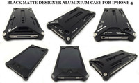 Wholesale Aluminum Element Bumper metal Case for phone iphone4S Arachnophobia Durable Transformers Cover
