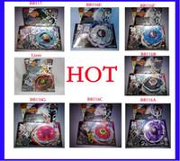 Wholesale 8pcs hot sale Styles Metal D Beyblades BB117 BB116A BB116B BB116C BB116E BB116F BB116G
