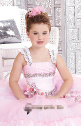 Joan Calabrese Flower Girl Communion Dress Satin & Lace Style