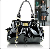Wholesale Designer bags women bags fashion bag handbags fashion Patent leather D