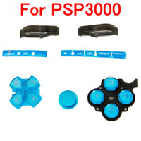 Wholesale Button Combination For PSP3000 Blue Super Quality