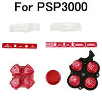 Wholesale Button Combination For PSP3000 Red Brand New
