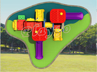 plastic playground - High Quality Oudoor Playground Plastic Slide