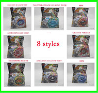 beyblades free shipping - 2012 hot sale Styles Metal D Beyblades Spinning Tops BB98 an so on