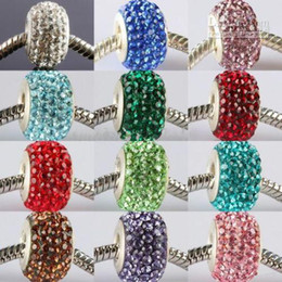 Wholesale Glitter Colorful Crystal Beads Best for Christmas embellish seed silver Colors mixed