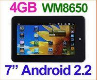 pocket pc - 50pcs VIA WM Android quot Tablet PC Wifi Epad Camera GB M Pocket PC MID Market G Youtube