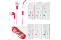 Wholesale 3 MM Color InEar Earphone With Remote And Mic For Mobile Phone lphone