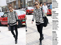 Wholesale New Korea Women Fashion Grid Top blouse Long one Colors White Available