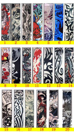 Wholesale Tattoo Sleeves Tattoo T Shirt Dress Sleeve for Arms or Legs Colorful models for choice