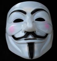 Halloween halloween masks - NEW V for Vendetta party mask Halloween Mask Party Face Mask Halloween Mask Dance cosplay mask