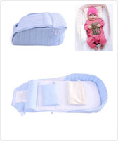 Wholesale NEW Baby Child Travel Bed Portable Bed With Blanket Pillow Cushion sets