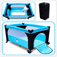Wholesale NEW Multi function Foldaway Baby Child Bed Portable Bed Game Bed Travel Bed
