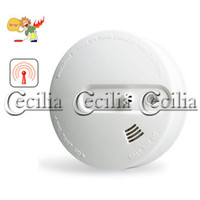 Wholesale home security Wireless optical and temperature composite type smoke detectors SS144954