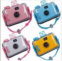 Wholesale raditional film camera Diving camera Waterproof mm Camera Underwater Camera LOMO cam aa1