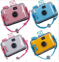Wholesale raditional film camera Diving camera fun camera Waterproof mm Camera Underwater Camera LOMO cam