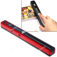 Wholesale Portable Handheld dpi A4 Wireless LCD Scanner with Mini USB amp TF Card Slots