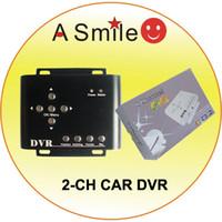 Wholesale 2channel car dvr car dvr dvr ch car dvr channel Car DVR Mini DVR ch taxi DVR ch Mobile D