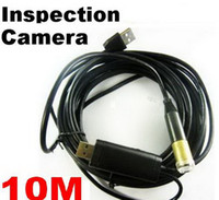 Fof Industrial pipe drain - m USB Cable Drain Pipe Plumb Inspection Snake LED Colour borescope Waterproof Camera