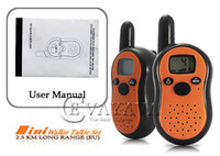 Wholesale Pair of Mini Walkie Talkie Set KM Long Range EU SS109451