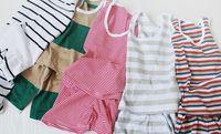 girl&boy 12-18 Months Medium Korean men and women baby clothes for baby clothing baby summer summer baby vest shorts Children 's