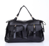 Wholesale New Design Fashion Handbag Womens Sholdbags Messager Bags Back and Brown China