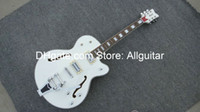 Wholesale Glorious Guitar White Falcon Jazz Hollow body Chinese guitar Limited Edition