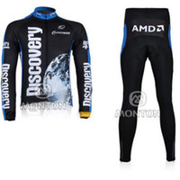 Wholesale NEW Cycling bicycle bike outdoor long sleeves Jersey pants Outdoor Sports Cycling Wear