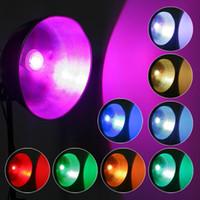 Wholesale 9W AC V B22 E27 GU10 LED RGB Light Bulb Colorful Million Colors table Lamp Remote Control H8098 H8076 H8099