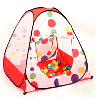 Wholesale Tot Insta Tent Children play tent spend tents beach tents portable tents game house folding