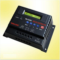 Wholesale 12V V A LCD display solar charge discharge controller sun solar controller functions CE RoHs EMS