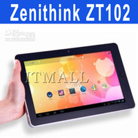 Wholesale Flytouch appearance ZT102 Zenithink tablet PC on Android Aml8726 A9 GB GPS HDMI G Network