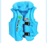 Wholesale Inflatable swimming vest Life vest jacket baby S M L size
