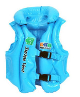 Wholesale Sample orders Children s life jackets swim vest swim equipment trumpet inflatable vest spare tire