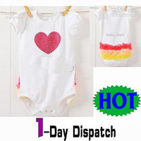 0-3 Months 70#, 80#, 90#, 95# White HOT! Nissen Baby Romper Baby Infant pajamas Baby bodysuits jumpers toddler Baby bodysuit jumpsuit