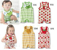 Cheap 24pcs Baby Romper Baby Infant pajamas Baby bodysuits jumpers toddler Baby bodysuit jumpsuit k