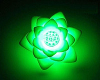 Wholesale Festival LED Wishing Romantic Colorful Lotus Lights LED Night Lights Valentine s Gift fg