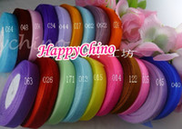 Wholesale 15mm Organza Ribbons Holiday Decoration Mix Color Wedding Craft Christmas Cakes Packing Spool