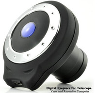 Wholesale Digital Eyepiece for Telescope View and Record to Computer Megapixel CMOS