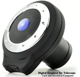Digital Eyepiece for Telescope - View and Record to Computer 1.3 Megapixel CMOS