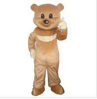 Wholesale Cartoon Adult Size Teddy Bear Mascot costume High Quality Party Dress Fancy Dress Halloween Costumes