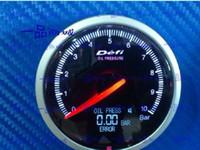 Wholesale Freeshipping mm gauge LCD defi meter oil pressure gauge