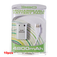 Wholesale 4800mAh Ni MH Battery with USB Charging Cable for XBox Controllers