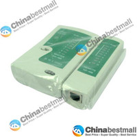 Wholesale High quality RJ45 RJ11 Cat Cat Cable Network LAN and Telephone Cable Tester