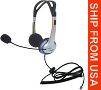 Wholesale PANASONIC HIGH QUALITY Office Telephone Headset with RJ9 Bidular Connection