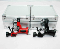 Wholesale Dragonfly Tattoo Rotary Machine Guns Aluminum Gun Boxes Top Grade Kits Supply